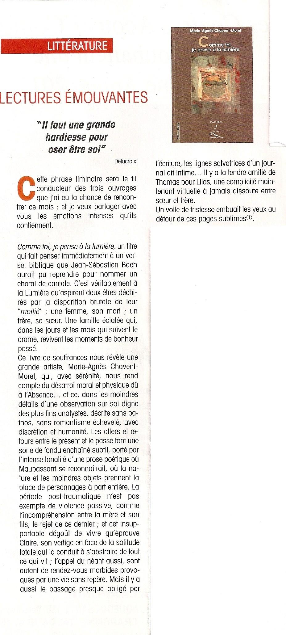 Article de Michel Loude